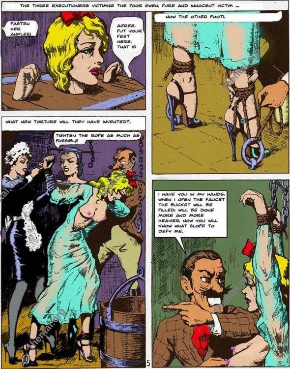 GWENDOLINE by Aries (En, BDSM comics free)