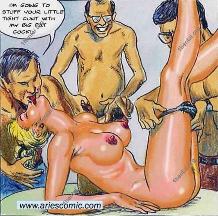 Housewife by Aries (En, BDSM comics free)