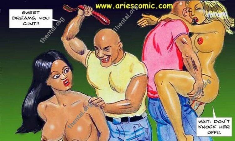 IDENTICAL TWINS by Aries (En, BDSM comics free)