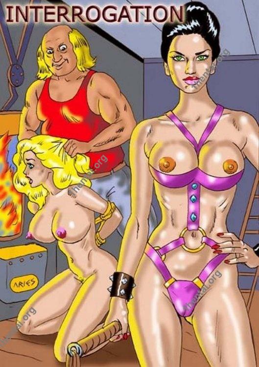 INTERROGATORIO by Aries (En, BDSM comics free)