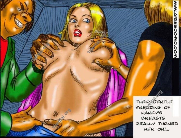 Janitor by Aries (En, BDSM comics free)