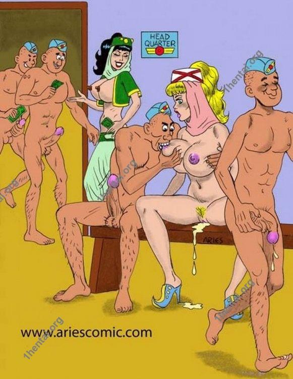 JENY by Aries (En, BDSM comics free)