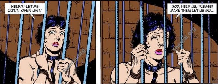 JUNGLA by Aries (En, BDSM comics free)