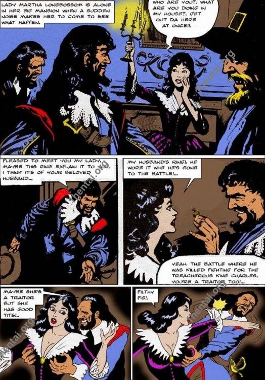 LADYMARTHA by Aries (En, BDSM comics free)