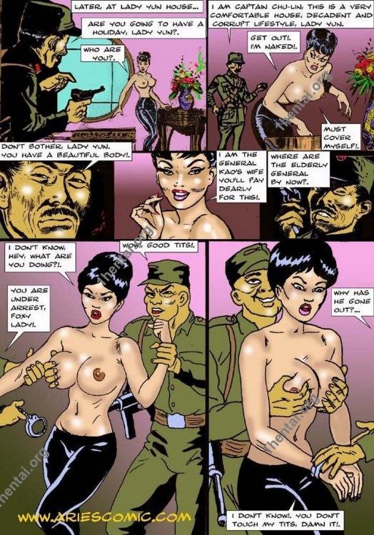 LADYYUN by Aries (En, BDSM comics free)