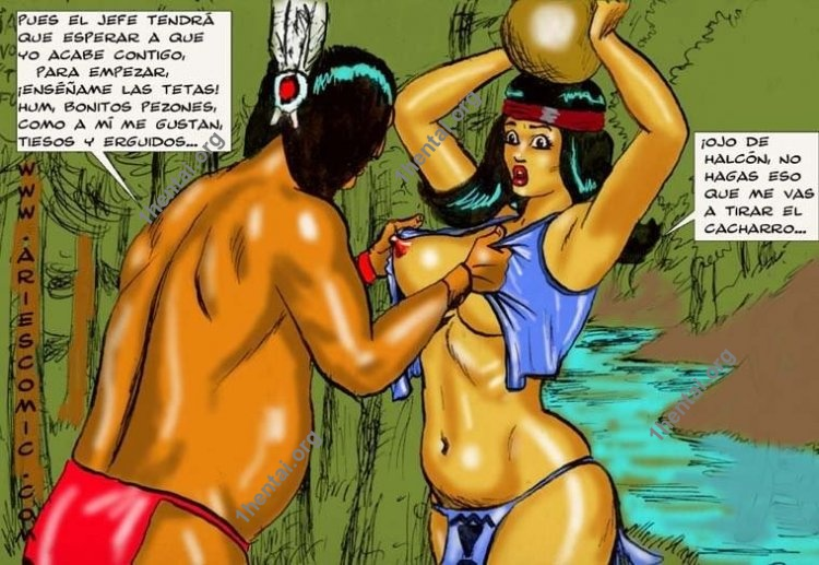 LAMENTO INDIO by Aries (En, BDSM comics free)