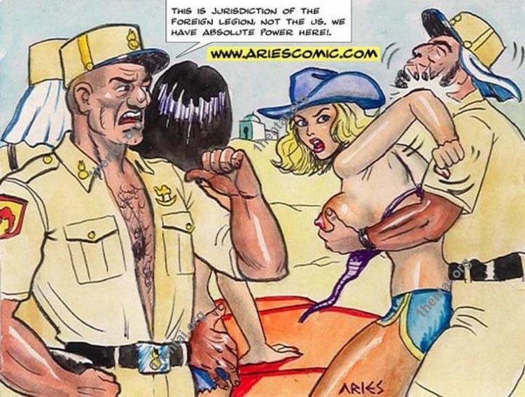 Legion Slave by Aries (En, BDSM comics free)