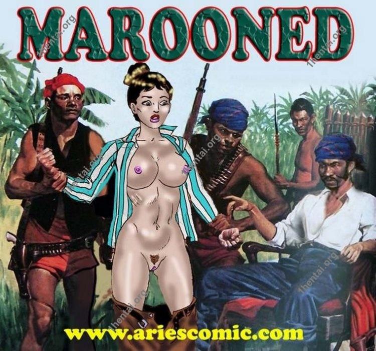 MAROONED by Aries (En, BDSM comics free)