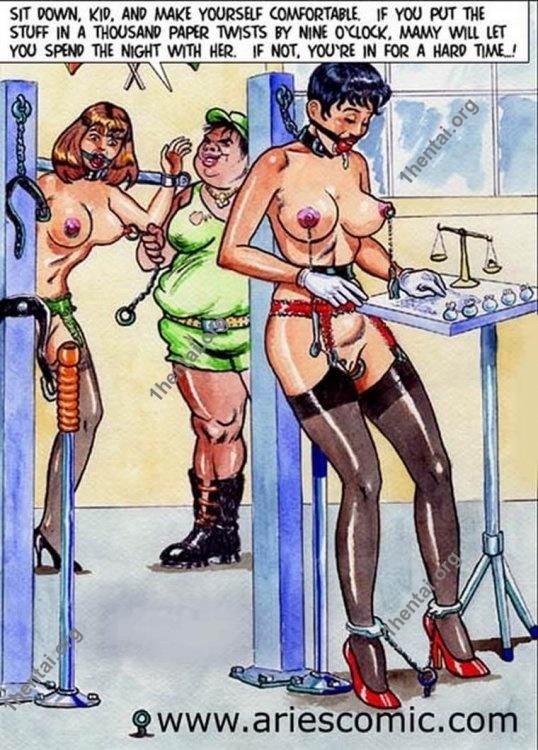 MATANZAS by Aries (En, BDSM comics free)