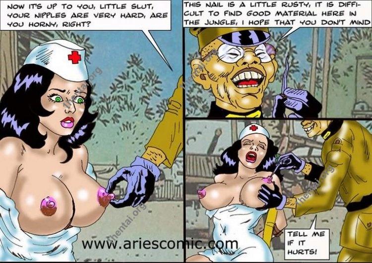MAYORPIJO by Aries (En, BDSM comics free)