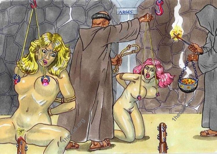 MEDIEVAL by Aries (En, BDSM comics free)