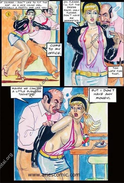MISTAKE by Aries (En, BDSM comics free)