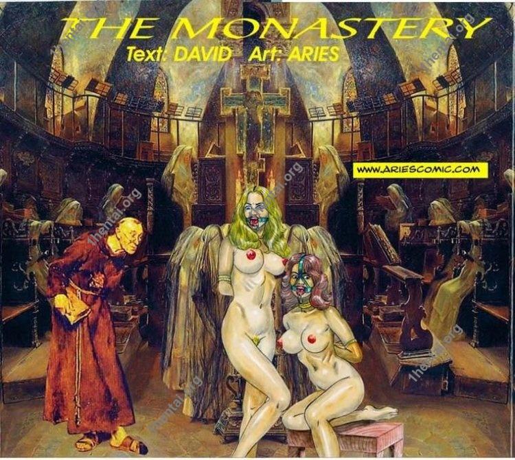 MONASTERY by Aries (En, BDSM comics free)