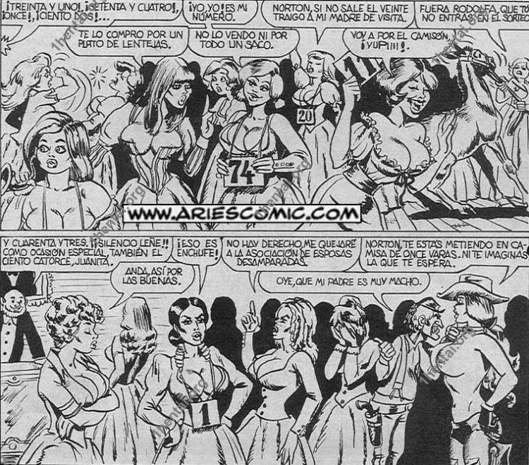 MORMON by Aries (En, BDSM comics free)
