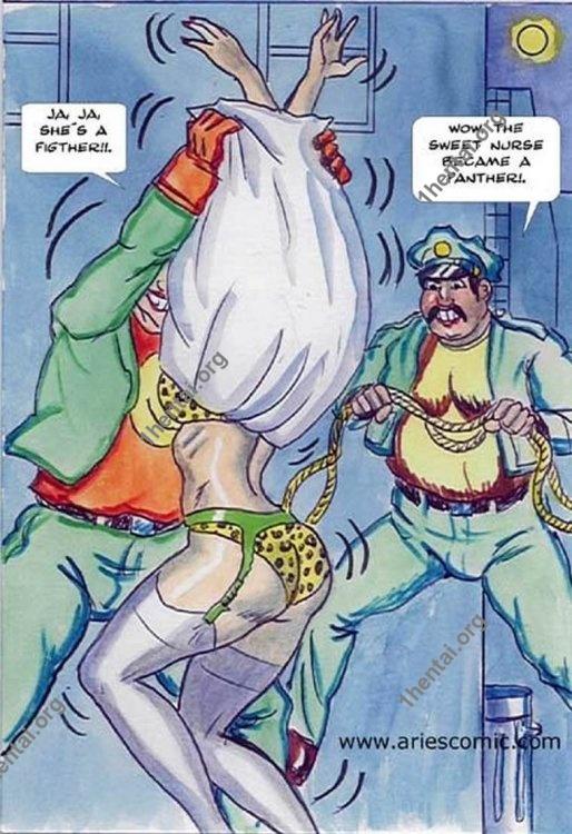 NURSE by Aries (En, BDSM comics free)