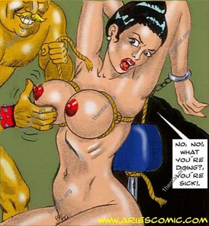 OFFICE by Aries (En, BDSM comics free)