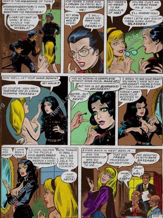 OLDCOMICS by Aries (En, BDSM comics free)