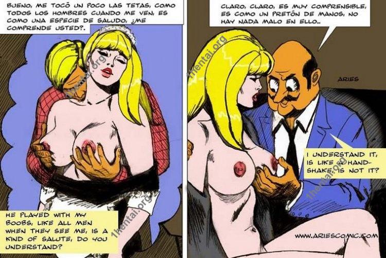 Pepi Caporte by Aries (En, BDSM comics free)