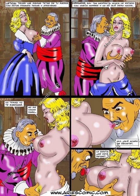 Piratas by Aries (En, BDSM comics free)