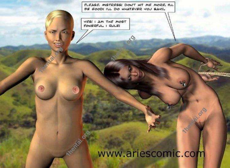 PONY by Aries (En, BDSM comics free)