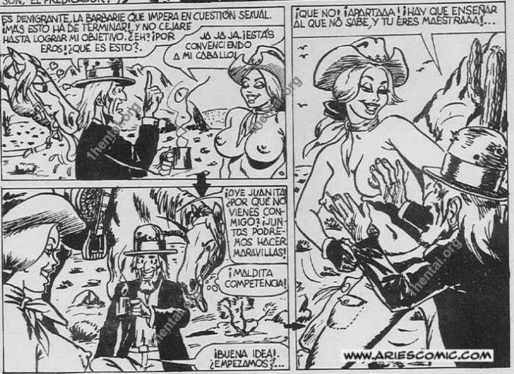 PREDICADOR by Aries (En, BDSM comics free)