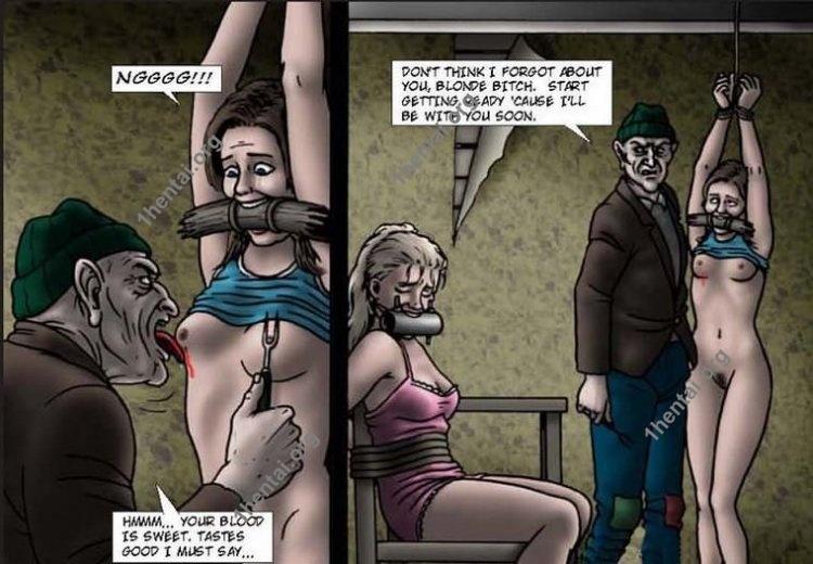 PRIVADA by Aries (En, BDSM comics free)