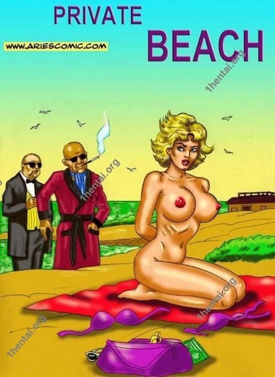 Private Beach by Aries (En, BDSM comics free)