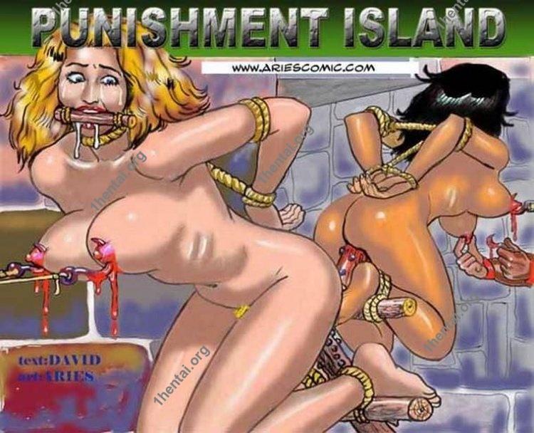 Punishment by Aries (En, BDSM comics free)