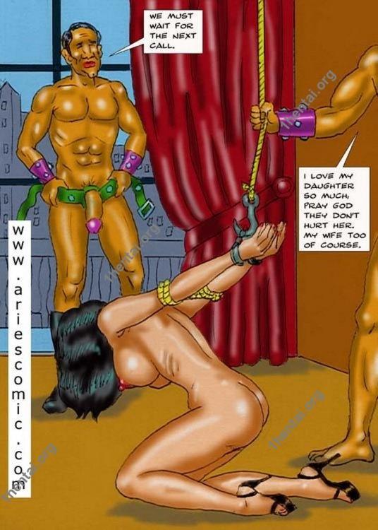 RANSOM by Aries (En, BDSM comics free)