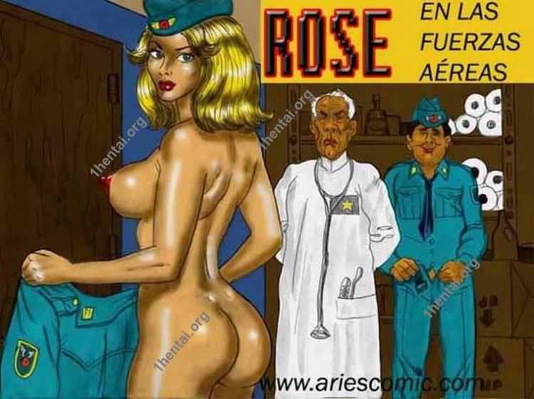 ROSEAIR by Aries (En, BDSM comics free)