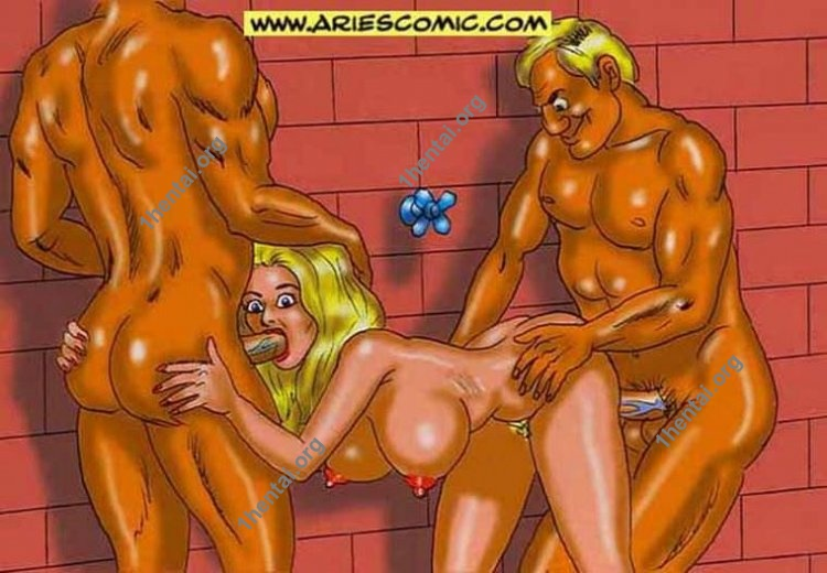 RoseBeach by Aries (En, BDSM comics free)
