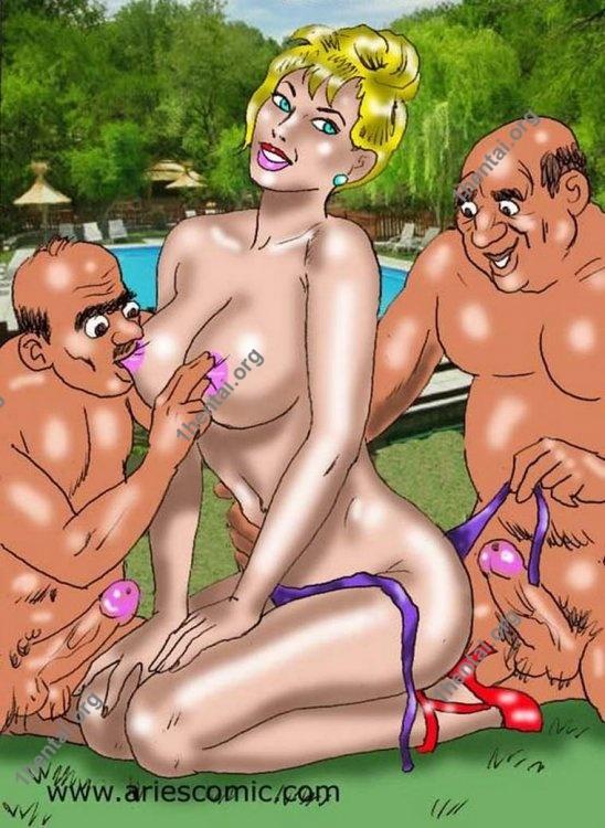 ROSETiosFINAL by Aries (En, BDSM comics free)