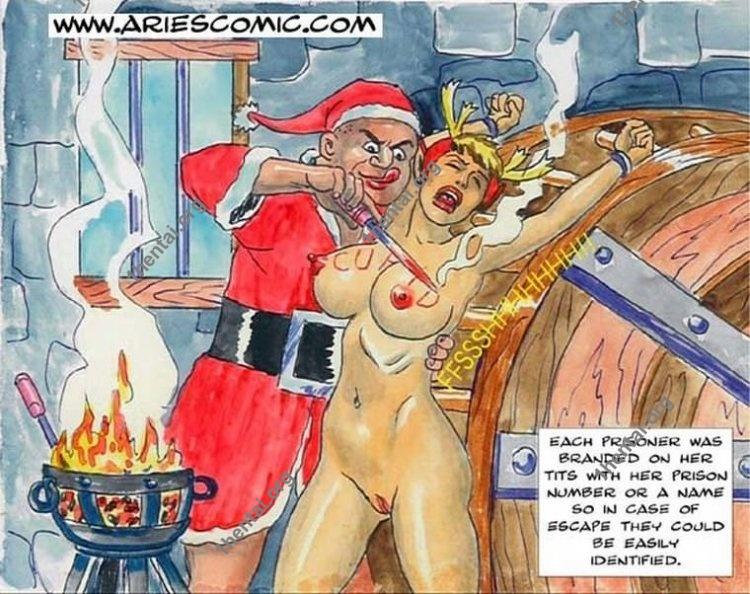 SANTACLAUS by Aries (En, BDSM comics free)