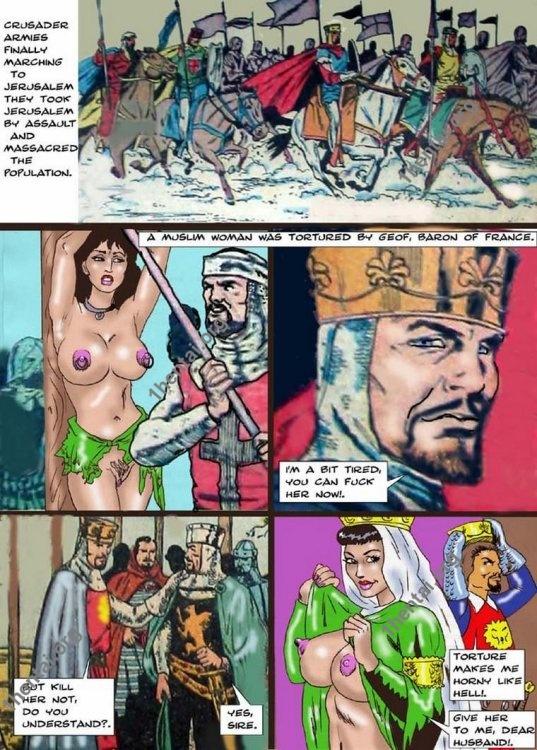 SARACEN PREY by Aries (En, BDSM comics free)