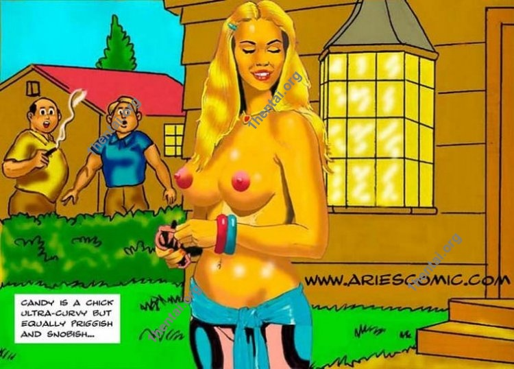 SNOB GIRL by Aries (En, BDSM comics free)