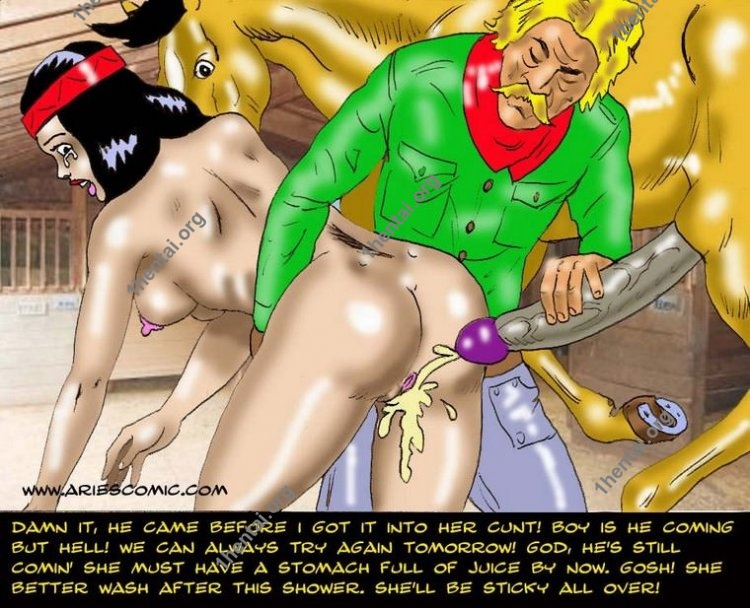 SQUAW by Aries (En, BDSM comics free)