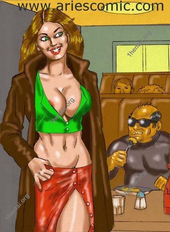 STARLET by Aries (En, BDSM comics free)