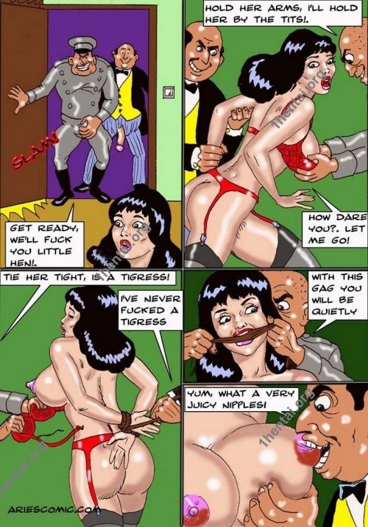 STEWARD by Aries (En, BDSM comics free)