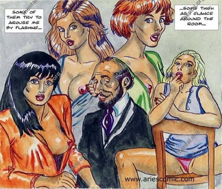 TEACHER by Aries (En, BDSM comics free)