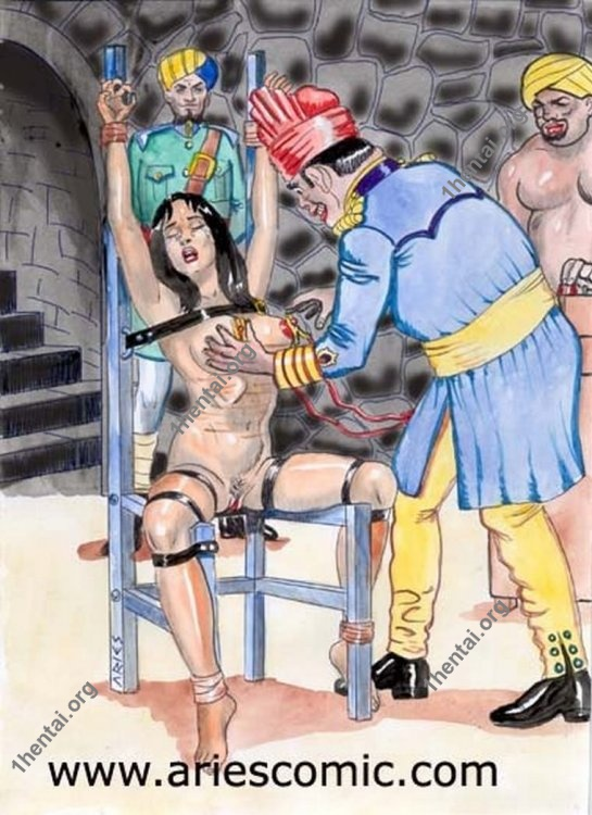 THECHAIR by Aries (En, BDSM comics free)