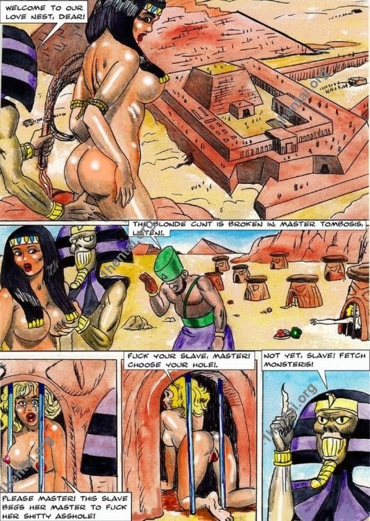 THEDEBT by Aries (En, BDSM comics free)