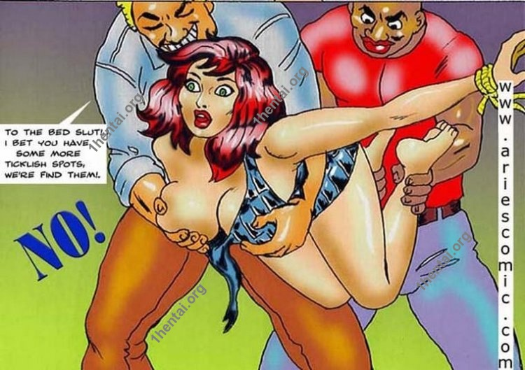 Tickled to Death by Aries (En, BDSM comics free)
