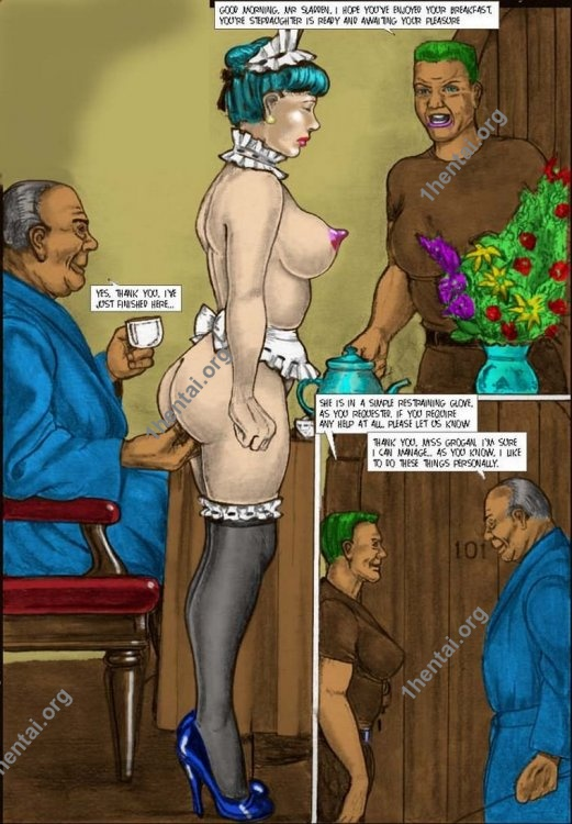 TRAINED by Aries (En, BDSM comics free)
