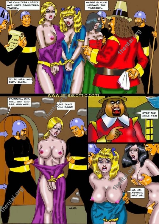 TRAITOR by Aries (En, BDSM comics free)