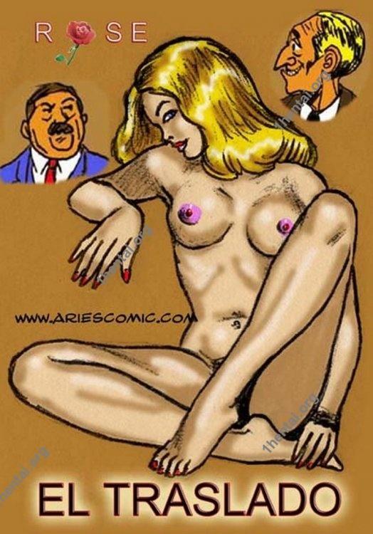TRASLADO by Aries (En, BDSM comics free)
