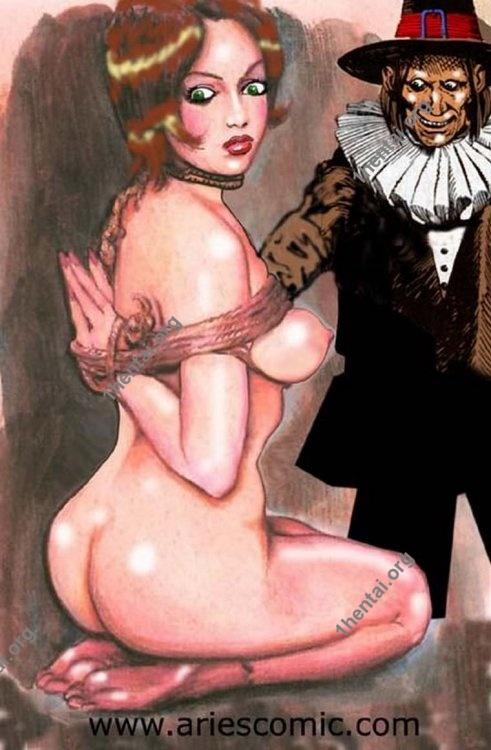 TRIO by Aries (En, BDSM comics free)