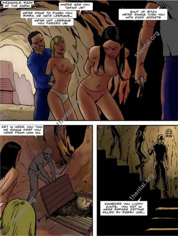 TriptoHell by Aries (En, BDSM comics free)