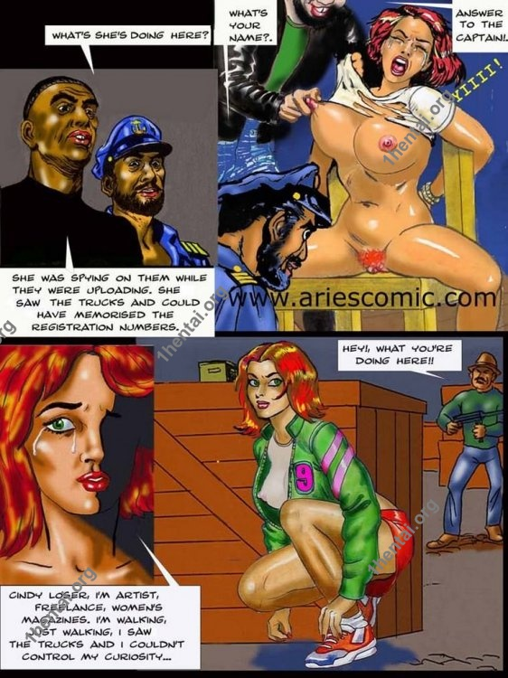 TROUBLE by Aries (En, BDSM comics free)