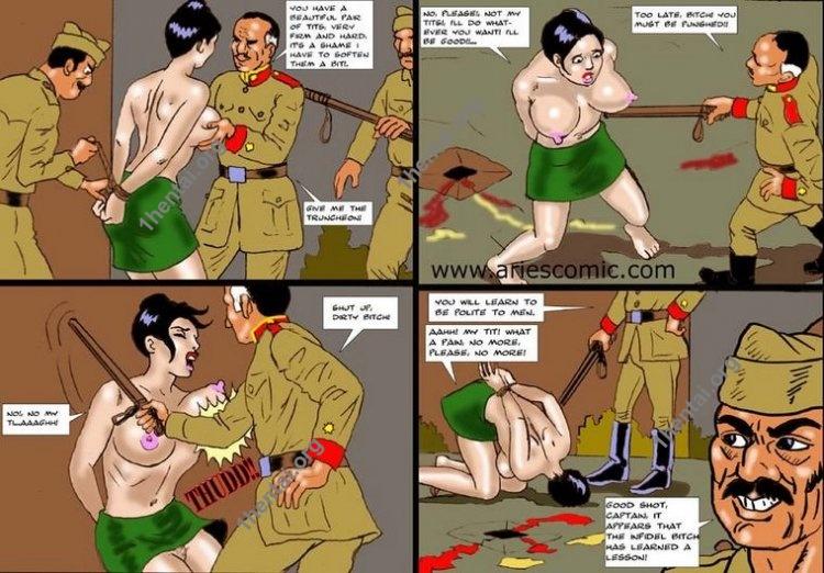 TURK by Aries (En, BDSM comics free)