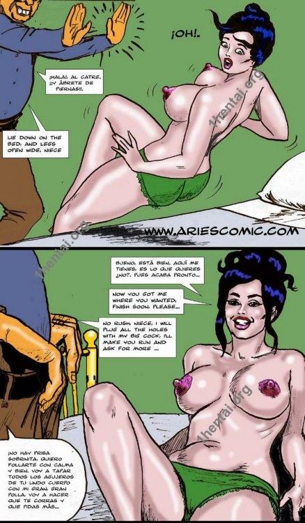 VACACIONES by Aries (En, BDSM comics free)